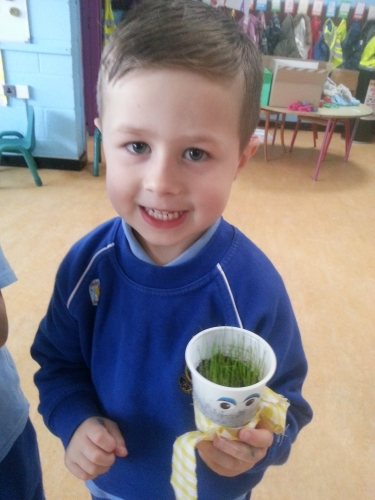 Learning about bio diversity in Junior Infants.