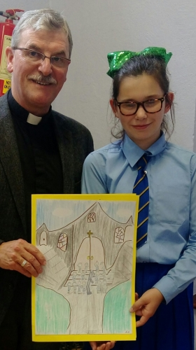 Our School Says Goodbye to Fr. Melvyn