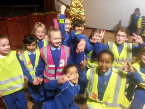 Hi Vis  Fun at our Disco