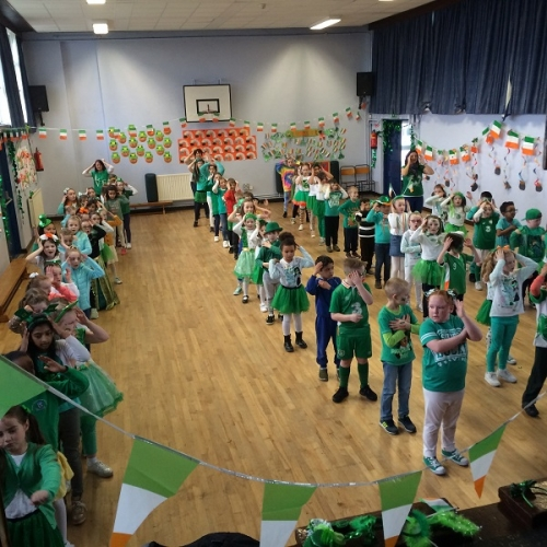 The School Goes Green for Seachtain na Gaeilge